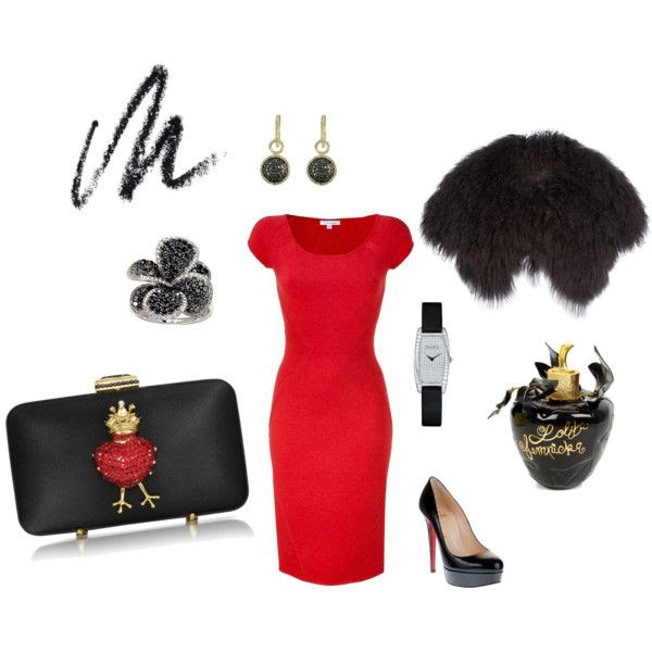 My entry for Polyvore Valetine's Day Contest.