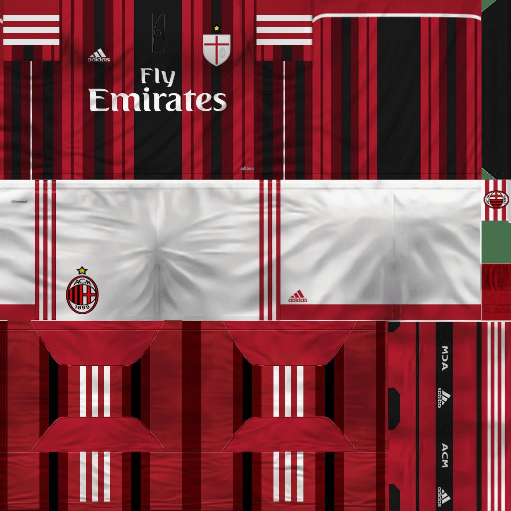 PES 6 : AC Milan Kit 2014/2015 (BETA) By Edwin ~ Sofyan Aghfar