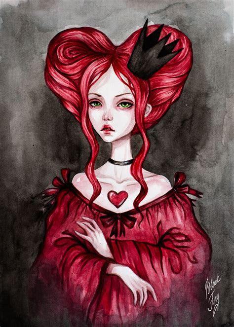queen  hearts  blackfuryadeviantartcom