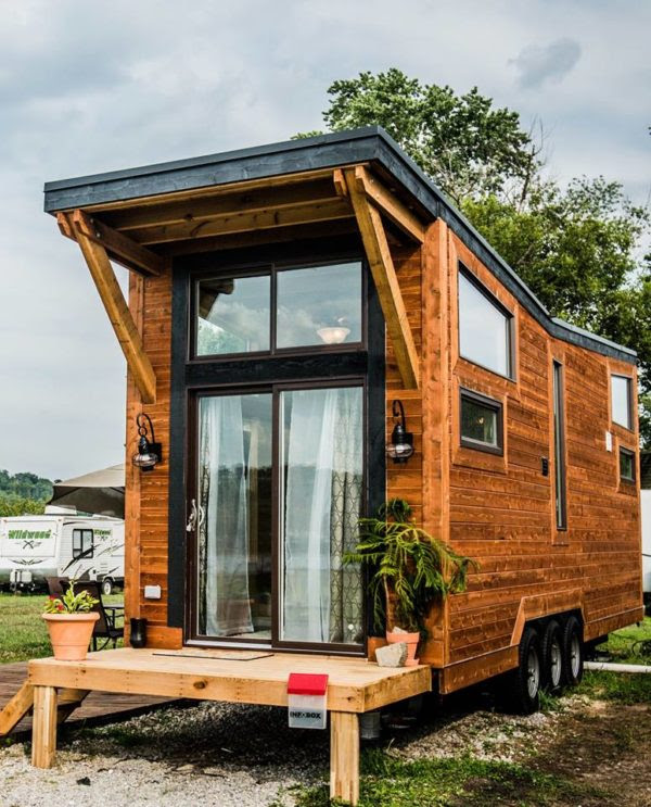 The Industrial: Wheel Life Tiny House Vacation in KY