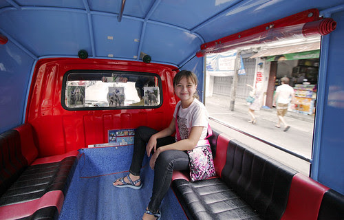 In the Tuk Tuk