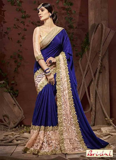Latest Indian Bridal Wedding And Party Wear Sarees 2017