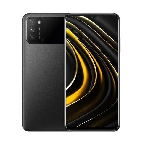 """XIAOMI POCO M3 prix maroc 6,53"""" (4Go, 64Go) 48MP+2MP+2MP/8MP Android – Noir<br />"""