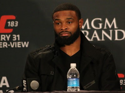 Tyron Woodley UFC MMA (Foto: Evelyn Rodrigues)