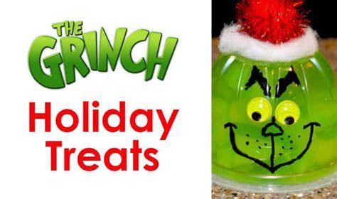The Grinch Christmas Treats   Holiday Party Recipe Ideas