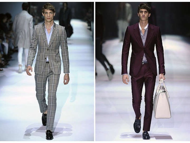Credit Formalwear inspiration for stylish grooms Gucci Men 39s Spring 2012