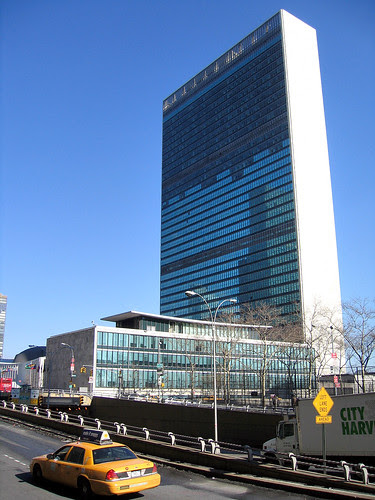 New York. United Nations Building