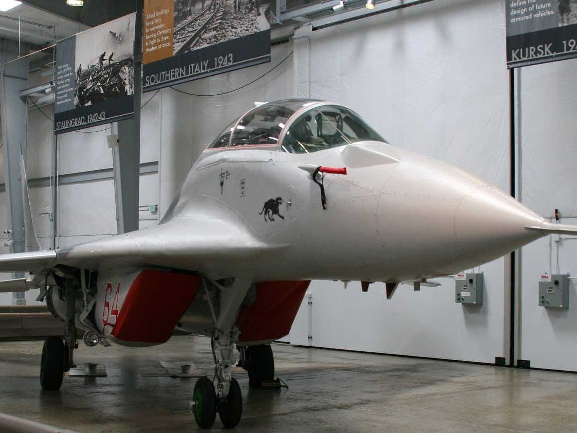 One plane in his collection is the MiG-29 Fulcrum, which was created by the Soviet Union's Mikoyan Design Bureau to challenge American fighter pilots in the 1970s.