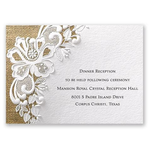Printable Wedding Reception Invitations   Printable Pages