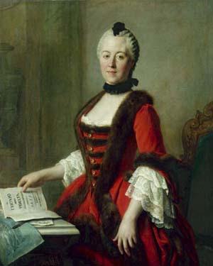 Portrait of Maria Antonia by Pietro Rotari