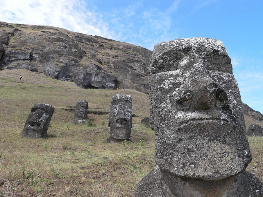 Easter Island in the Polynesian Triangle