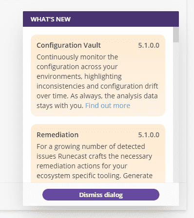 Runecast Analyzer 5.1 Adds Remediation and Config Vault