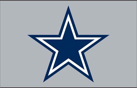 dallas cowboys primary dark logo national football