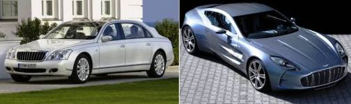 7. Maybach Landaulet Aston Martin One 77 Top 10 Most Expensive Cars   2012
