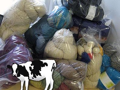 Cow and Yarn