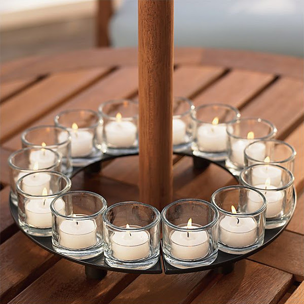 Encore Candle Holder Centerpiece | Tealight Candleholders ...