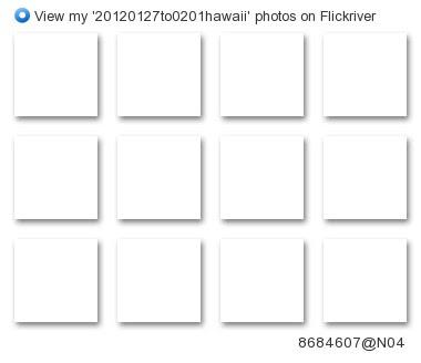 hkawahara929 - View my '20120127to0201hawaii' photos on Flickriver