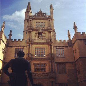 "A Literary City Guide to Oxford ""for bookworms who love to eat"""