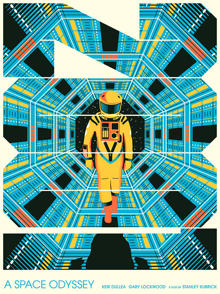 2001: A Space Odyssey by Matt Chase