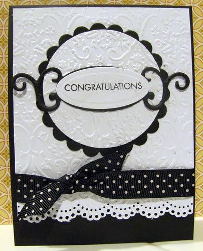 Paper Crafts Gallery Idol  2011 - Congrats card
