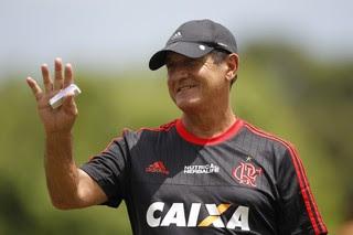 Muricy sorri (Foto: Gilvan de Souza / Flamengo.com.br)