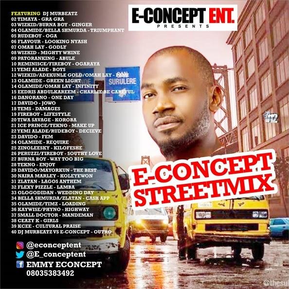 [BangHitz] Mixtape : E-Concept Entertainment Present - E- Concept Street Mix