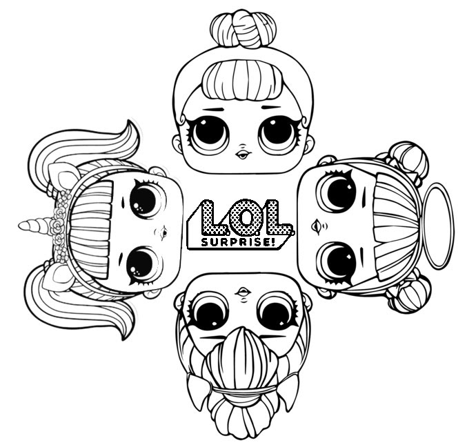 Alisya - Coloring Pages: Lol Surprise Coloring Pages Series 4