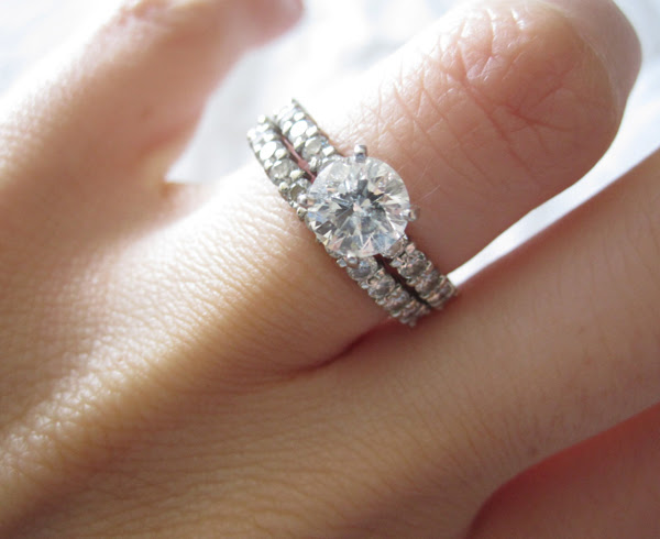 Engagement and wedding ring traditions
