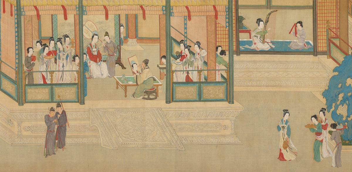 Wang Zhaojun. Las concubinas en el Palacio Imperial de la dinastía Han