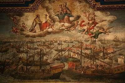 Risultati immagini per la battaglia di lepanto e la madonna del rosario