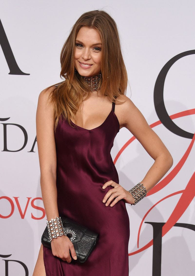 JOSEPHINE SKRIVER at CFDA Fashion Awards 2015 in New York