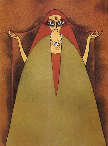 Kees Van Dongen, pochoir illus. for Hassan Badreddine el Bassraoui, 1926