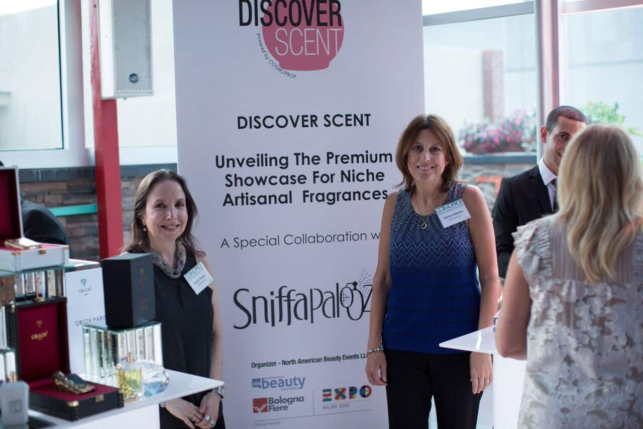 Discover Scent Signage at Rising Stars of Beauty NYC event in conjunction with Cosmoprof Las Vegas