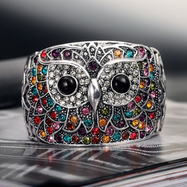12 Beautiful Owl Braceletes