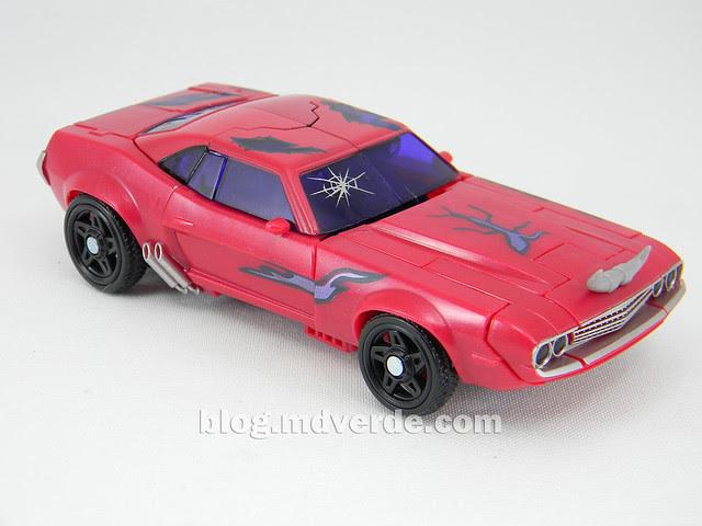 Transformers Terrorcon Cliffjumper Rust In Piece Deluxe - Prime SDCC - modo alterno