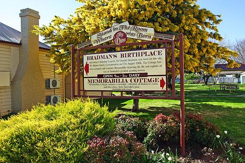 Bradman's Birthplace, Cootamundra, New South Wales, Australia IMG_4520_Cootamundra