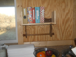 Cook Book Shelf