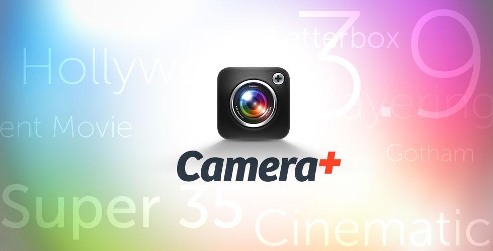 Camera Plus 3.9 for iOS (teaser 001)