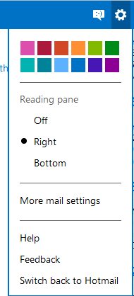 New Hotmail's option on Outdated Penang Uncle blogspot dot com
