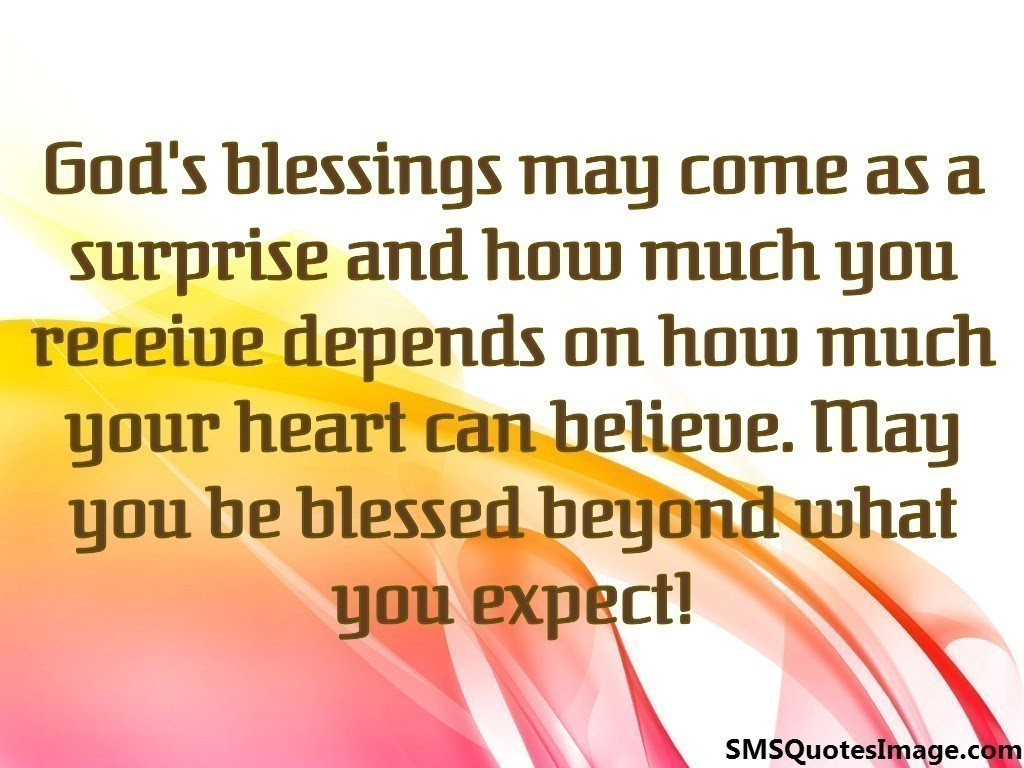 Quotes About Gods Blessing 23 Quotes