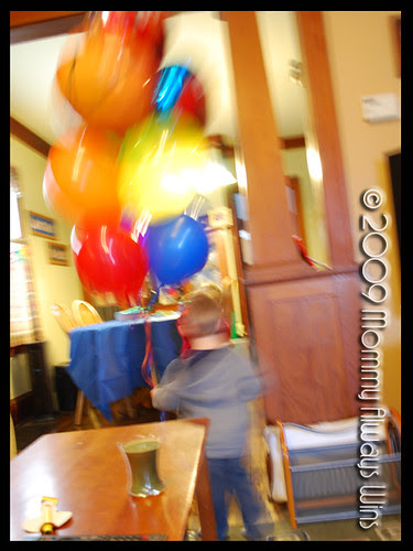 pre-party excitement