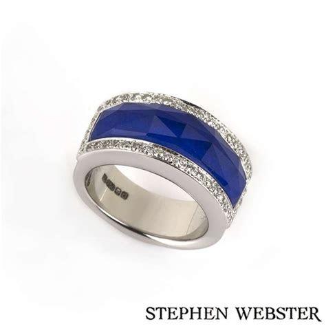 Stephen Webster 18k W/G Crystal Haze Blue Lapis and