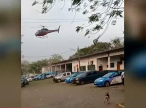 Piloto de helicóptero é rendido por criminosos no ar no Rio de Janeiro