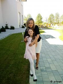 Malgorzata Greber mit ihrer Tochter Martyna (privat)