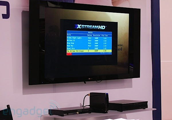 XstreamHD demo