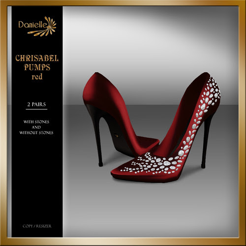 DANIELLE Christabel Pumps Red