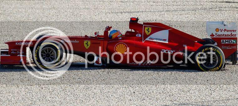Fernando Alonso salida de pista clasificación Australia 2012