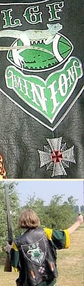 Lizardoid Iron Cross