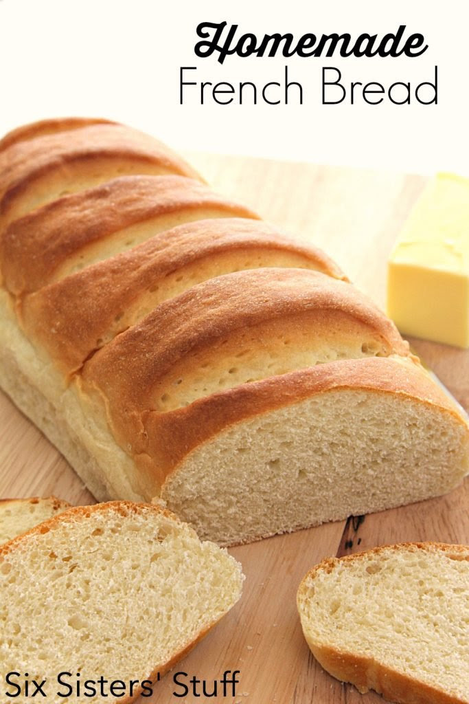 Easy Homemade French Bread Recipe - Six Sisters' Stuff