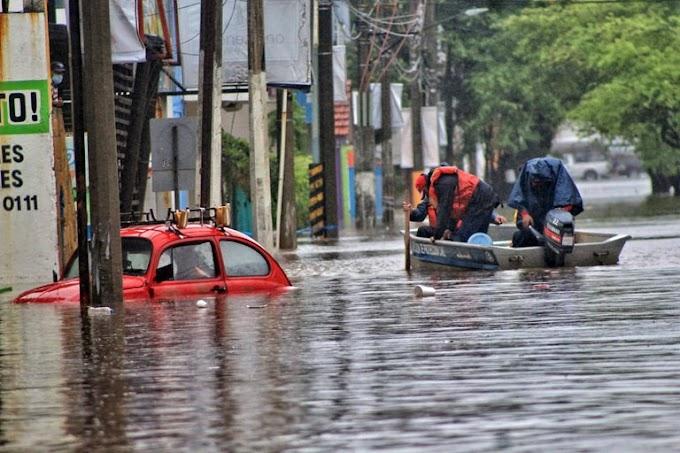 LAS INUNDACIONES EN EL SURESTE DE MÉXICO DEJAN 27 MUERTOS Y 180.000 AFECTADOS